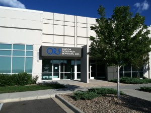 Front entrance to ORS Colorado offices