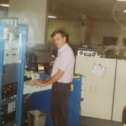 Carl, ORS's IVA Operator for 30+yrs