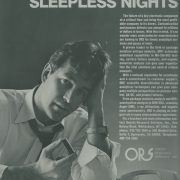 ORS ad from the 1980s